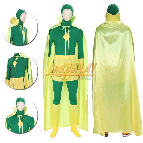 Vision Green Cosplay Costume 2021 WandaVision Edition