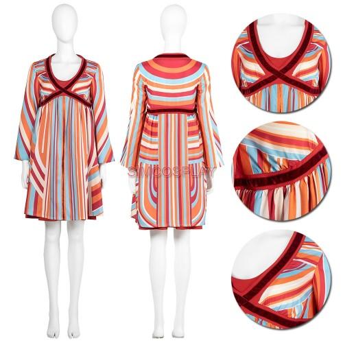 Wanda Pregnant Cosplay Costume WandaVision Cosplay Suit
