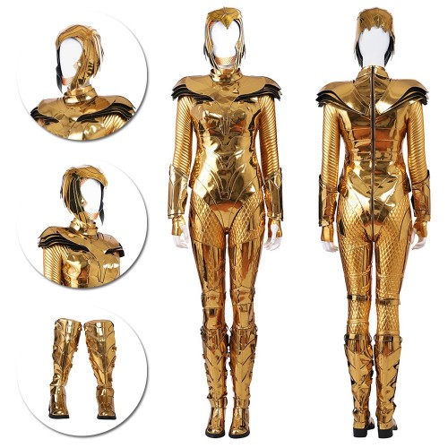 Wonder Woman 1984 Costume Diana Prince New Golden Eagle Armor Cosplay Suit