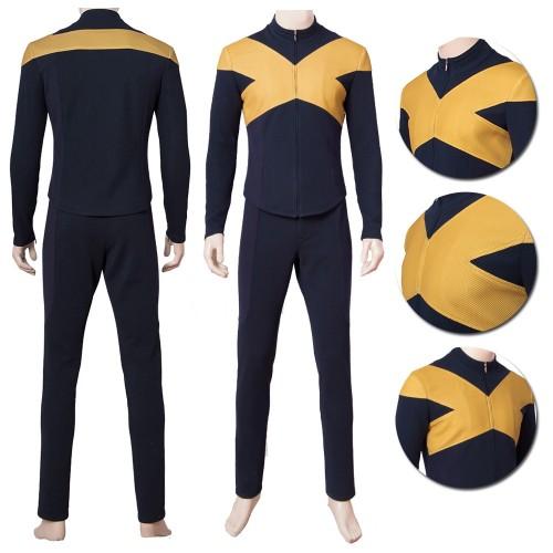 X-men Dark Phoenix Cosplay Costumes Uniform Suit Top Level