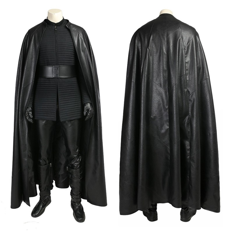 Details about  /Star Wars 8 VIII The Last Jedi Kylo Ren Cosplay Costume Suit Outfit Cape Cloak