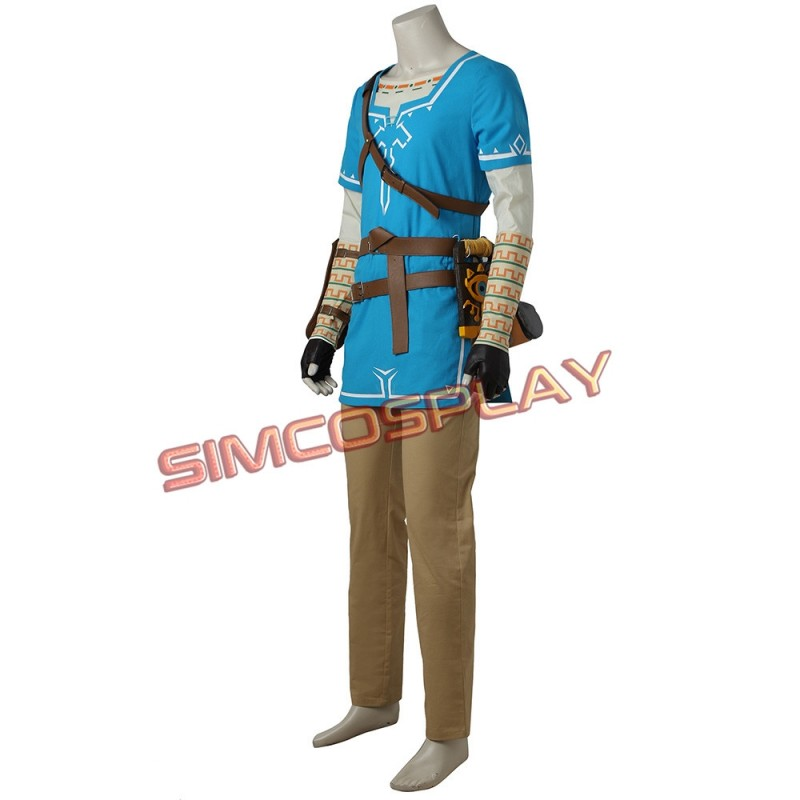 The Legend of Zelda Breath of the Wild Link Cosplay Chaussures
