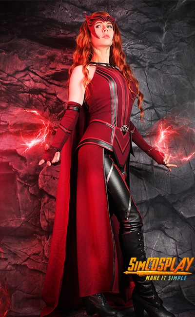 Wanda cosplay by florenciasofen