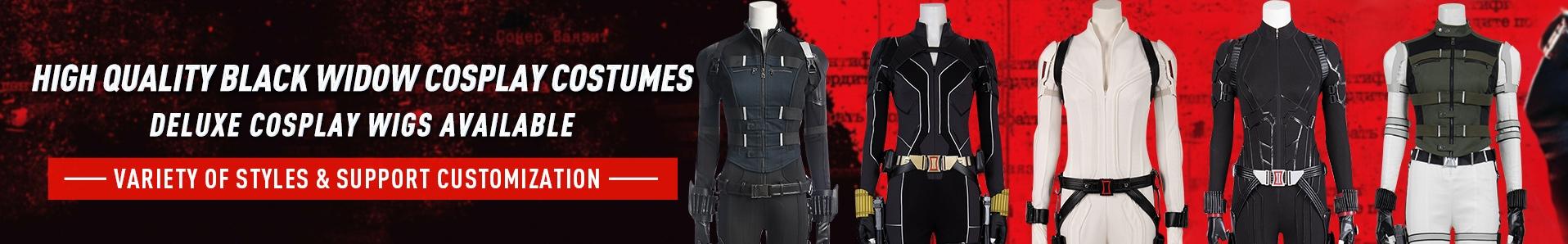Black Widow cosplay costumes